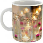 GiftOwl Happy Birthday Joy and Light Ceramic Coffee Mug