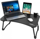 Gizga Essentials Wood Portable Laptop Table