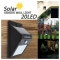 Global 20 LED 4W Solar Motion Sensor Outdoor Wall Light