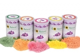 Go Natural 100% Herbal Holi Gulal Can 100 gm* 5 Cans