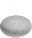 Google Home Mini  (Chalk) with adapter