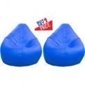 Home Berry Classic Bean Bag – Large size Without Beans -Blue (Buy1 Get1)
