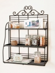 Only at Rs. 1038 Home Sparkle Black Kitchen Rack