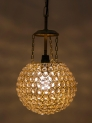 Gold-Toned Solid Hanging Wall or Ceiling Lamp