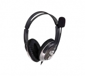 HP B4B09PA Headphones with Mic and clear treble sounds
