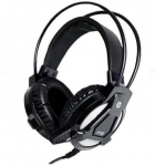 HP H100 Wired Headset with Mic (Black, Over the Ear)