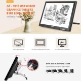 Alfawise AP – 1910 USB Wired Graphics Tablet 8192 Level 2000LPI – BLACK EU