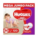 Huggies Wonder Pants Diaper Monthly Pack Medium Size