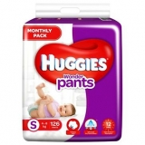 Huggies Wonder Pants Diaper Monthly Pack Small Size – 126 Pieces