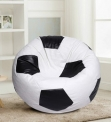 Messi Football XXXL Filled Bean Bag in Red Colour by SGS Industries