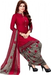 Ishin Crepe Printed Salwar Suit Material  (Unstitched)