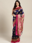 Only at Rs. 499 Printed Mysore Silk Saree