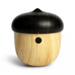 J2 Ultra-Portable Wireless Bluetooth Speaker Wood Texture