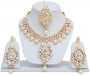 Jewels Capital  Alloy Jewel Set  (White)