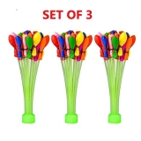 Jiada Automatic Fill and Tie Magic Water Balloons for Holi