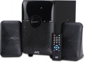 JVC XS-XN21 28 W Bluetooth Home Audio Speaker  (Black, 2.1 Channel)