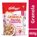 Kellogg's Crunchy Granola Almonds and Cranberries 460g