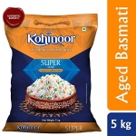 Kohinoor Super Silver Aged Basmati Rice, 5 Kg
