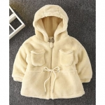 Kookie Kids Fulls Sleeves Hooded Winter Coat – Yellow