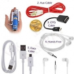 Data Cable/USB Cable +OTG Cable+Aux Cable+Hands