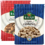 Lali Balaji Almonds Regular 200gm & Cashew Premium