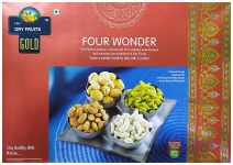 Lali Dry Fruits Four Wonder Mixed Dry Fruit 400Gm