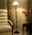 Leaf Design Metal Floor Lamp by Tu Casa