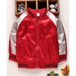 Lekeer Kids Full Sleeves Bomber Jacket With Pockets