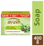 Lever Ayush Cool & Fresh Aloe Vera Soap 100 gm