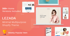Lezada – Multipurpose Shopify Theme