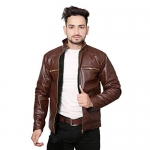 Life Trading Hot Released Faux Leather Jacket