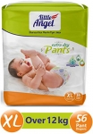 Little Angel Baby Diaper Pants, X-Large – 56 Count