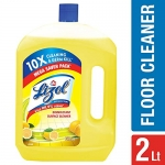 Lizol Disinfectant Floor Cleaner Citrus, 2 L