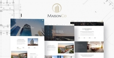 MaisonCo – Single Property WordPress Theme