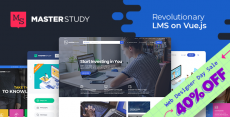 Masterstudy Education – LMS WordPress Theme for Education, eLearning and Online Courses
