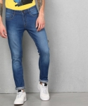 Only at Rs. 494 Metronaut  Slim Men Blue Jeans