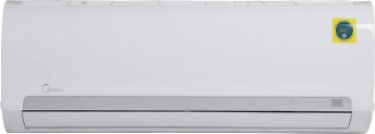 Midea 1 Ton 3 Star Split AC – White