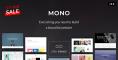 Mono – Creative Multi-Purpose HTML5 Template