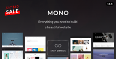 Mono – Creative Multi-Purpose HTML5 Template