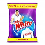 Only at Rs. 255 Mr. White Powder – 3KG+1KG FREE (4KG)