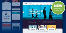 Nanosoft – WP Theme for IT Solutions and Services Company