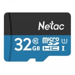 Netac P500 32GB Micro SD Card TF Card Up To 80MB/S – Blue