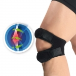 Pressurized Knee Wrap Sleeve Support Bandage Pad Elastic