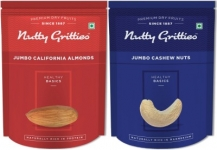 Nutty Gritties Jumbo California Almonds and Cashews Nuts