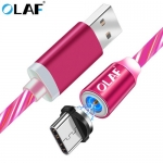 OLAF 1M Micro USB Type C Rotatable Fast Charging Cable