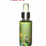 Only at Rs. 412 Pocket Hand Sanitizer Green Apple Pack of 2 – 100 ml Each