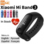 Origina Xiaomi Mi Band 3 Smart Wristband Fitness Bracelet MiBand Band 3 Big Touch Screen