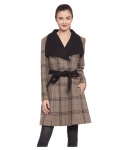 Owncraft Woollen Brown Over coats for women