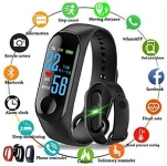 PACC MAN Smart Band Fitness Tracker Watch Heart Rate