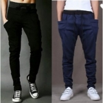 Pack of 2 Trackpants Black & Navy
